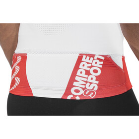 Compressport Trail Running V2 Top sin Mangas Hombre, white